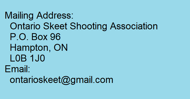OSSA Contact Information